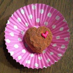 slagroomtruffels, leuk voor Valentijnsdag