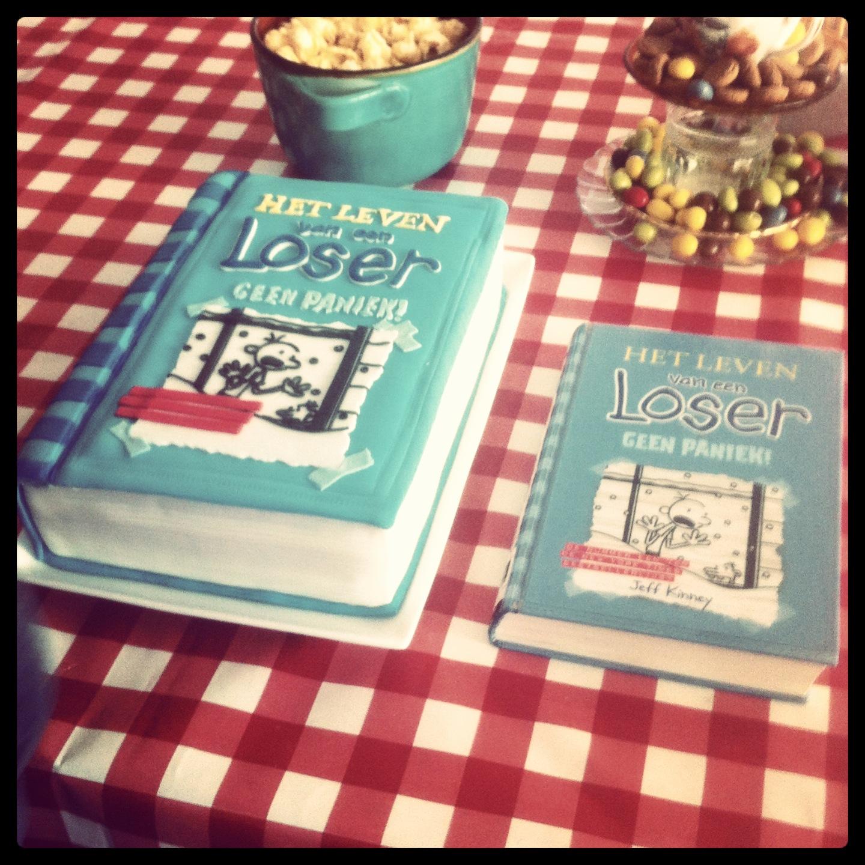 How-to boek taart