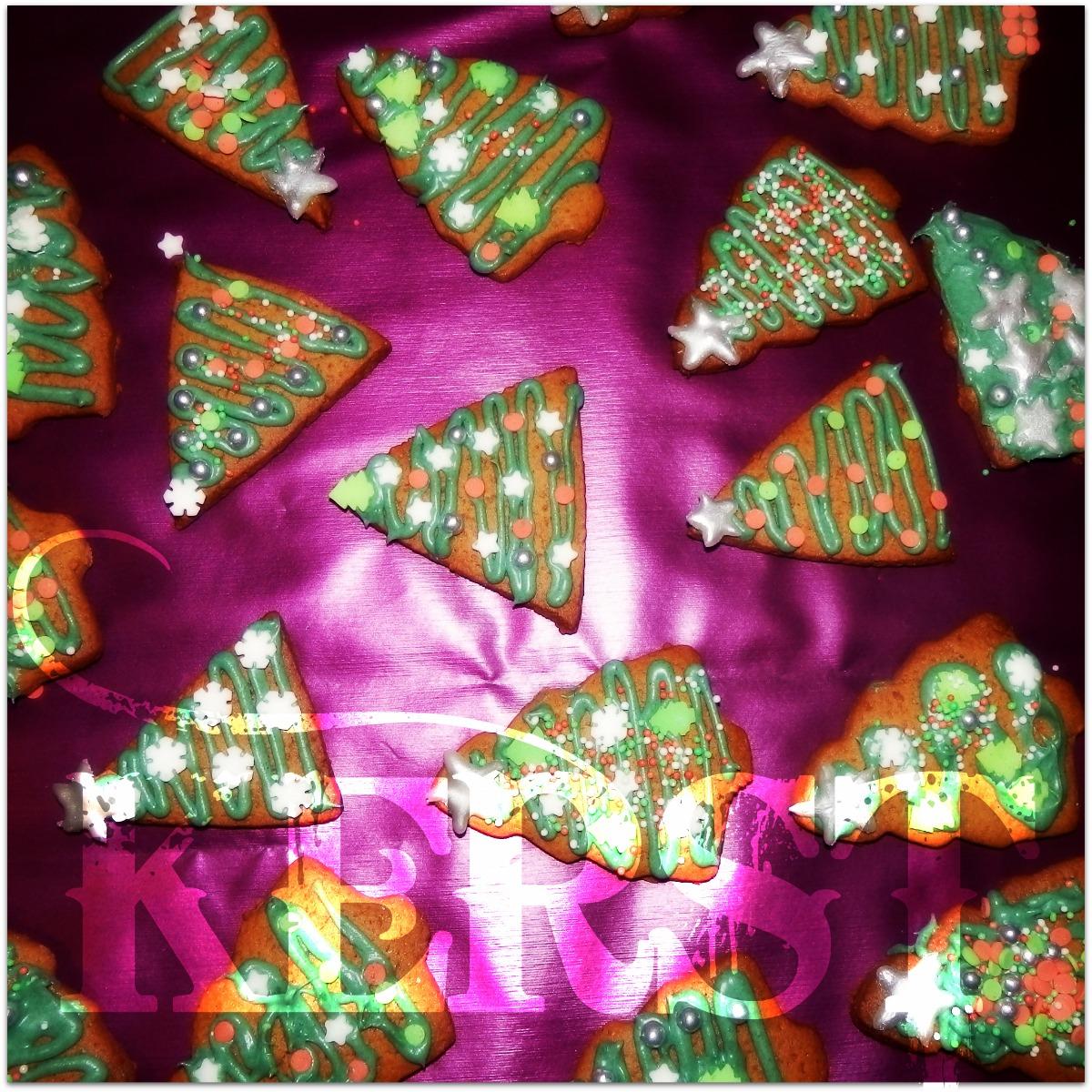 Kerstkoekjes kerstboom