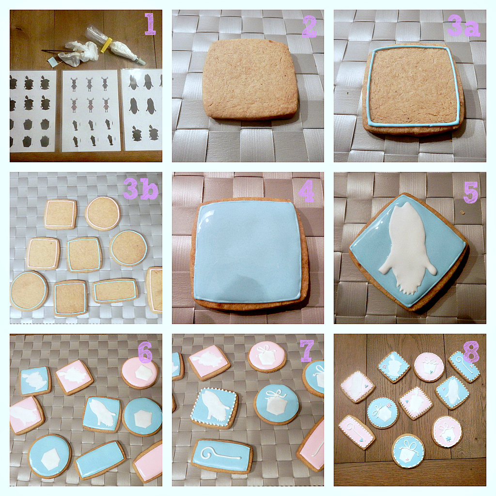 How-to koekjes met royal icing thema Sinterklaas