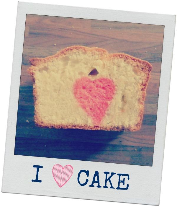 Resultaat how-to: cake met gekleurd hartje in het midden