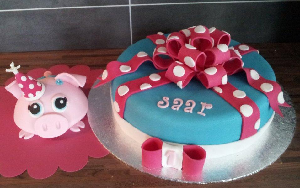 taart verjaardag maken Een feestvarken voor het feestvarken… taart verjaardag maken